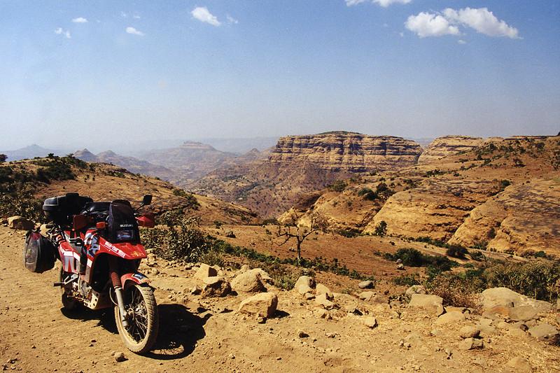 Ethiopie, sur la piste entre Shiba et Gondar