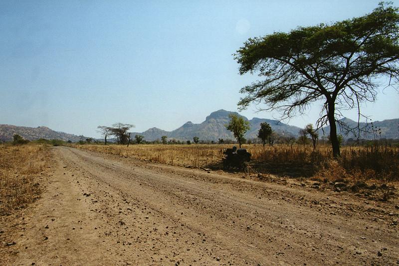 La piste Addis Abeba - Dire Dawa - Djibouti, Ethiopie, février 2000