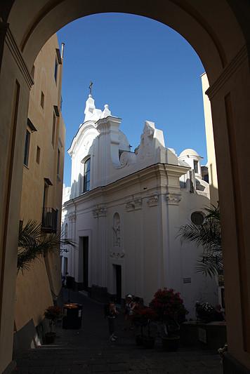 Chiesa di Santo Stefano, Capri, Italie - août 2013