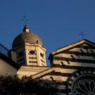 Chiesa Sant Andrea di Levanto, Italie - août 2013