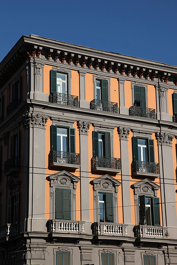 Ancienne demeure Napolitaine, Italie - août 2013