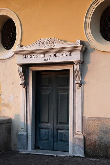 Porte Maria Stella del Mare, Sorrente, Italie - août 2013