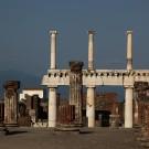 Pompeii, ruines de la basilique, Italie - août 2013