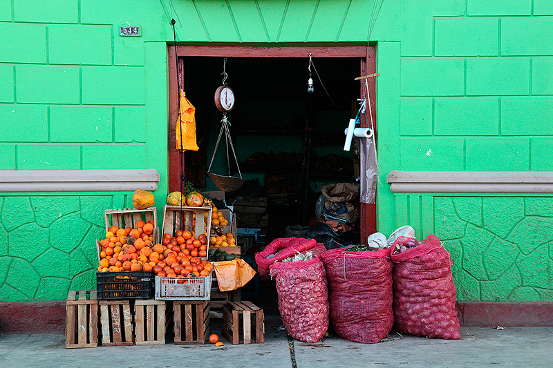 Une boutique dans les rues de Puquio, Pérou - 2014