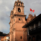 Iglesia de la compana de Jesus, Cuzco, Pérou - 2014