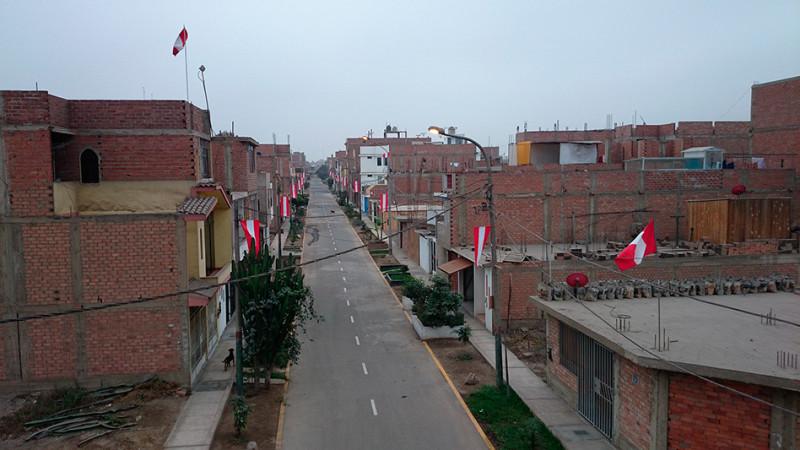 Quartier de la Alameda, Lima - Pérou 2014