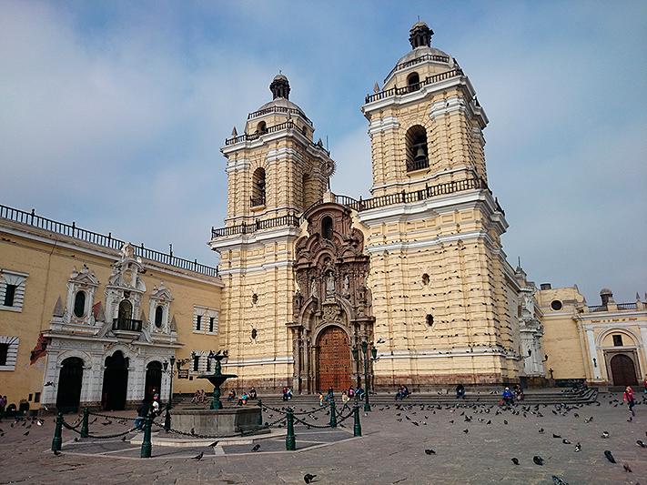 Monasterio San Francisco de Lima - Pérou 2014