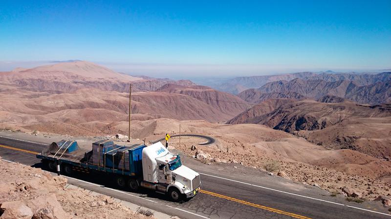 Montée sur l'altiplano depuis Nazca, Pérou - 2014