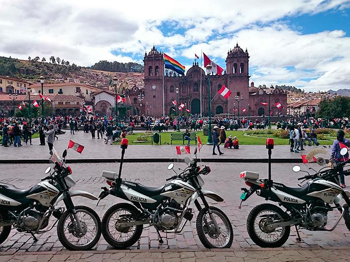 Plaza de Armas, Cuzco, Pérou - 2014