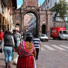 Scène de rue, Cuzco, Pérou - 2014