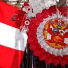 Viva el Peru ! Décorations pour la fête de l'indépendance, Cusco, Pérou - 2014