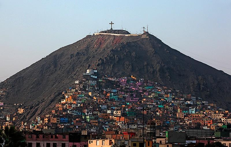 La colline de San Cristobal, Lima -Pérou 2014