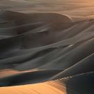 Jeux d'ombres et de lumières sur les dunes de Huacachina, Pérou - 2014