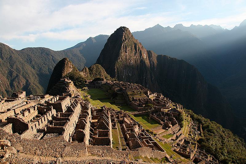le site du Machu Picchu, Pérou - 2014