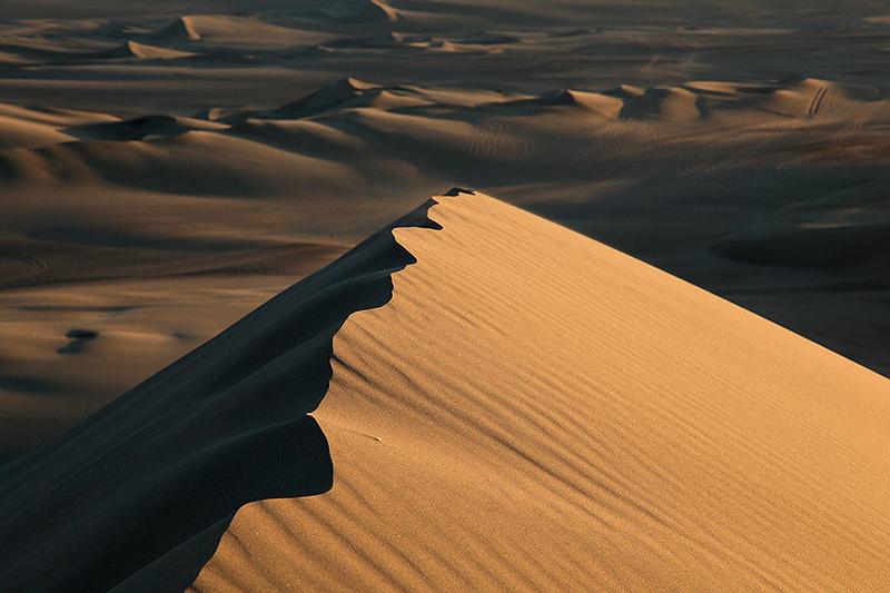 Les dunes de l'oasis de Huacachina, Pérou - 2014