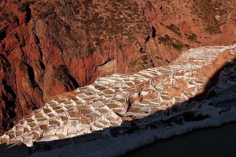 Les salines de Maras, Pérou - 2014