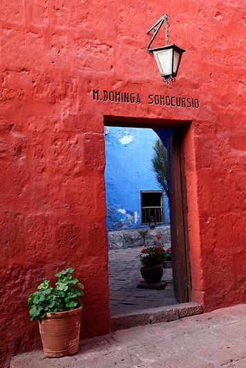 Monasterio Santa Catalina, Arequipa, Pérou - 2014