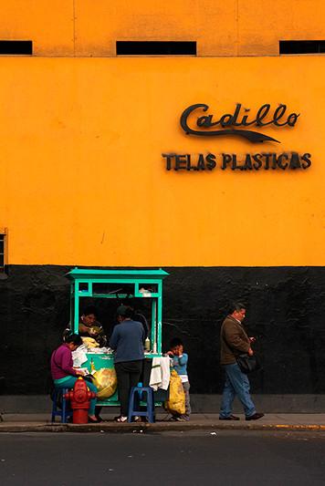 Commerce de rue, Lima - Pérou - 2014
