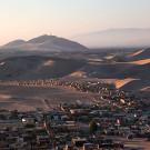 Le village au pied des dunes, ica, Pérou - 2014