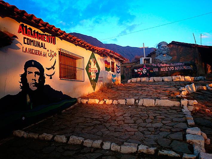 Alojamiento comunal (auberge communale), La Higuera, Bolivie - 2014
