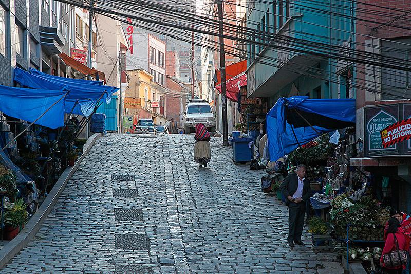 Echopes, mercado de hechiceria (marché des sorcières), La Paz, Bolivie - 2014