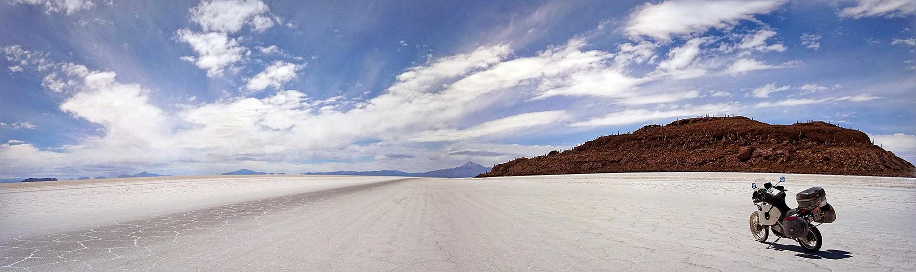 Isla Incahuasi, salar d'Uyuni, Bolivie - 2014