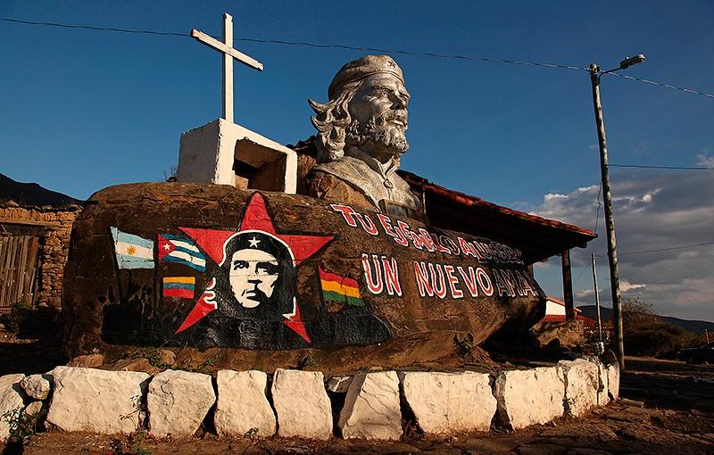 Monument à la mémoire de Che Guevara, La Higuera, Bolivie - 2014