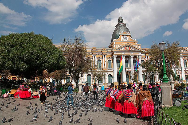 Plaza Pedro D. Murillo, La Paz, Bolivie - 2014