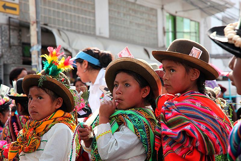 Regards d'enfants, Sucre, Bolivie - 2014