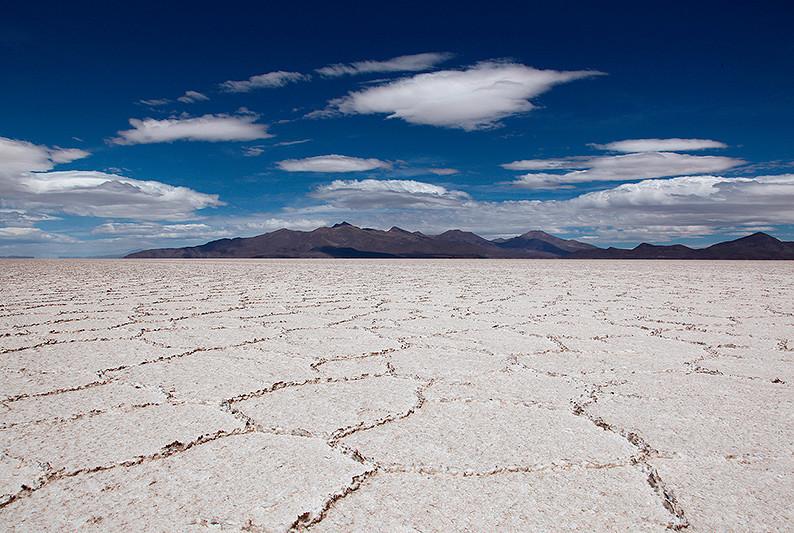 Le Salar d'Uyuni, Bolivie - 2014