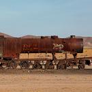 """""""El cementario de tren"""", Uyuni, Bolivie - 2014 - photo 08"""
