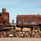 Le cimetière de trains d'Uyuni, Bolivie - 2014 - photo 09
