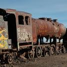 Le cimetière de trains d'Uyuni, Bolivie - 2014 - photo 11