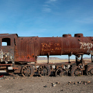 """El cementario de tren"", Uyuni, Bolivie - 2014 - photo 12"