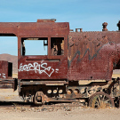 Le cimetière de trains d'Uyuni, Bolivie - 2014 - photo 01