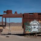 """""""El cementario de tren"""", Uyuni, Bolivie - 2014 - photo 02"""