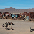 Le cimetière de trains d'Uyuni, Bolivie - 2014 - photo 03