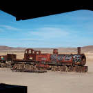 """El cementario de tren"", Uyuni, Bolivie - 2014 - photo 04"