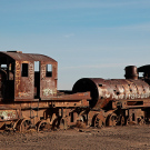 """El cementario de tren"", Uyuni, Bolivie - 2014 - photo 17"