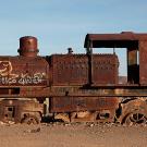 """""""El cementario de tren"""", Uyuni, Bolivie - 2014 - photo 18"""