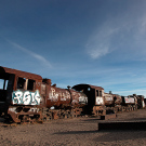 Le cimetière de trains d'Uyuni, Bolivie - 2014 - photo 19