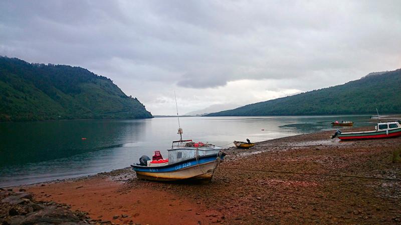 Le fjord de Puyuhuapi, Carretera Austral, Chili - 2014