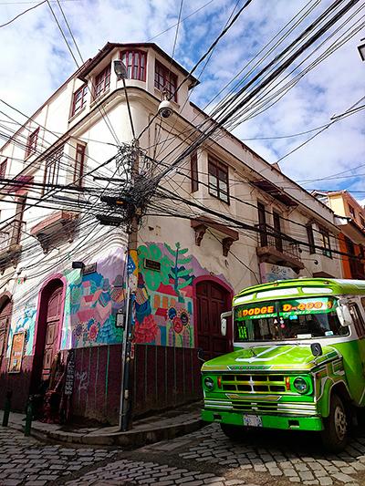 Les rues de La Paz, Bolivie - 2014