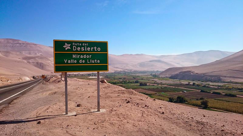 """La """"Ruta del Desierto"""" vers Arica, Chili - 2014"""
