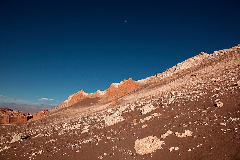 Vallée de la lune, San Pedro de Atacama, Chili - 2014