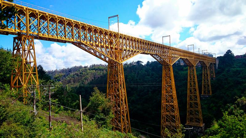 Viaduc ferroviaire du Malleco, Chili - 2014