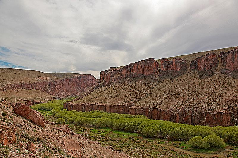 Le canyon de la Cueva de las Manos, Argentine - 2014
