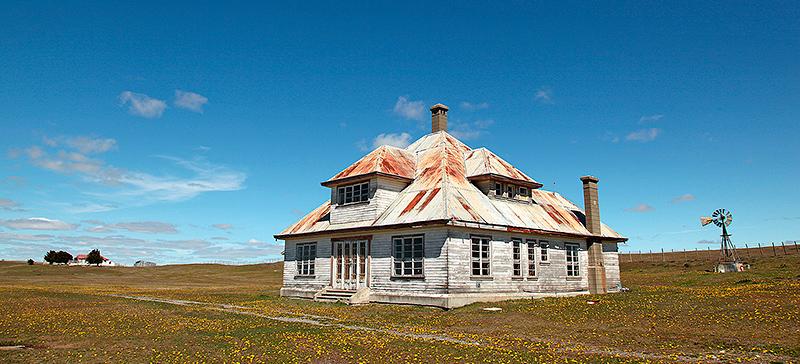 L'estancia Springhill, Patagonie, Chili - 2014