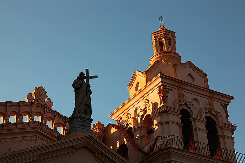 Fronton de l'Iglesia Catedral, Cordoba, Argentine - 2014