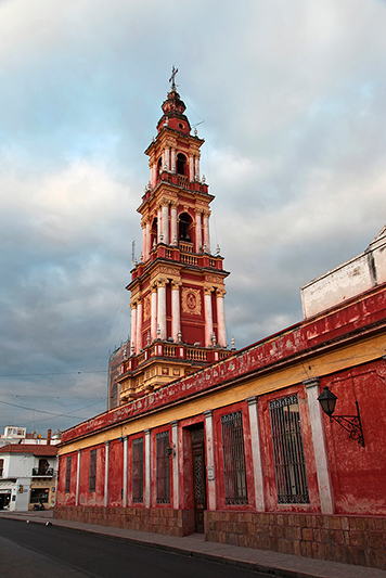 L'église San Francisco, Salta, Argentine - 2014
